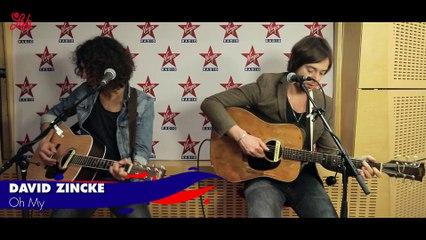 """David Zincke en live dans Le Lab Virgin Radio """"Oh My"""""""