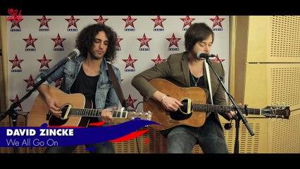 """David Zincke en live dans Le Lab Virgin Radio """"We All Go On"""""""