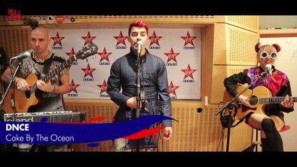 "DNCE en live dans Le Lab Virgin Radio ""Cake By The Ocean"""