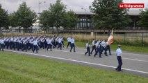 14-Juillet. Les élèves sous-officiers de Châteaulin préparent le défilé