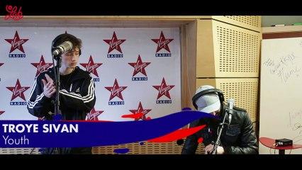 """Troye Sivan en live dans Le Lab Virgin Radio """"Youth"""""""