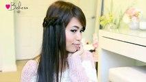 Knotted-Loop-Waterfall-Braid-Hairstyle--Hair-Tutorial