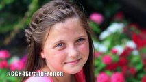 4-Strand French Braid Pinback - Cute Girls Hairstyles -