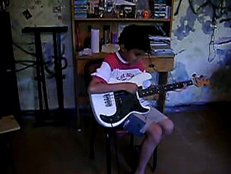 ZAPANDO con banda de niños de 10 años/ little boys jamming 10 years old