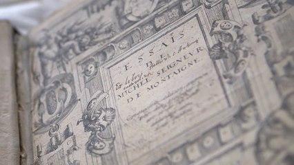 """Les """"Essais"""" de Montaigne. Un exemplaire exceptionnel sur Gallica"""