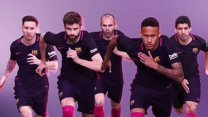 a8779c6c42 El FC Barcelona 16 17 vestirá de morado y rosa