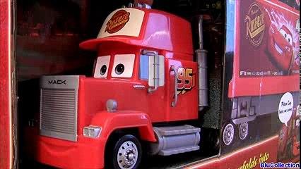 Cars 2 Mega Mack Playtown playset with Bessie & Talking Doc Hudson Hornet Disney Pixar Mattel toys