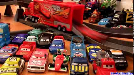 Cars 2 Motorized Mack Track Challenge Playset With Speedway Launcher Disney Pixar by Blucollection