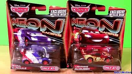 Cars 2 Neon Racers 2014 Metallic Finish Shu Todoroki NEW Collection Disney Pixar Cars EXCLUSIVE