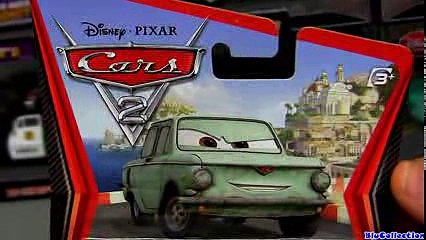 Cars 2 Petrov Trunkov #18 Diecast Disney Pixar figure toy review by Blucollection