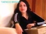 REBELDE(MÉXICO) - Vick dá uma surra em Pilar ; Vick parte pra cima de Raquel