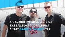 Blink 182 knocks Drake off Billboard 200 albums chart No. 1