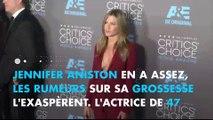 """Jennifer Aniston répond aux rumeurs de grossesse et dénonce le """"body shaming"""""""