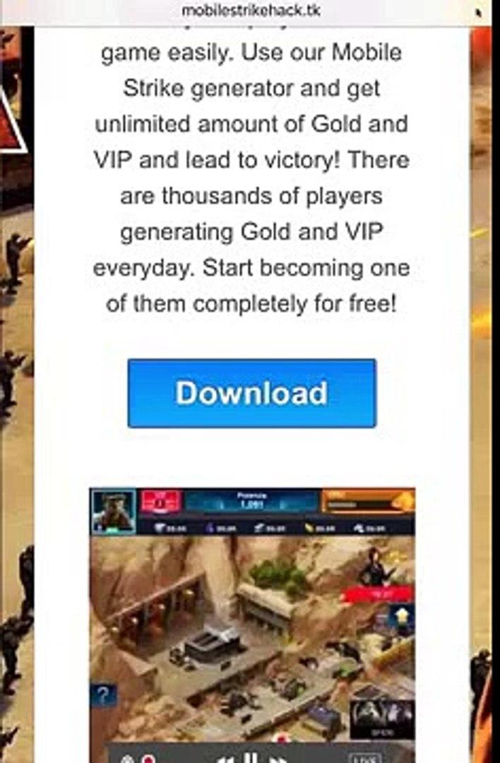Mobile Strike Hack Mobile Strike Gold Mobile Strike Gold Hack - Link in Description