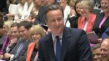 Cameron compare Corbyn au chevalier noir des Monty Python