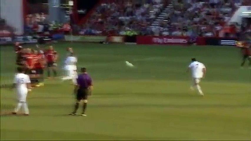 Cristiano Ronaldo Breaks A Boys Arm With This Free Kick 07/24/2013   Godialy.com