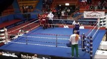 CRAZY ASSAULT! Croatian young fighter Vido Loncar KOed referee at EURO 2014 Boxing Championship!!!