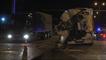Tıra Çarpan Kamyon Sürücüsü Yaralandı