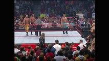 Shawn Michaels, Chris Benoit & Chris Jericho vs Edge, Christian & Tyson Tomko (Raw 24.1.2005)