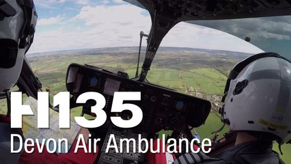 Devon Air Ambulance's H135s: Making a difference when every minute counts