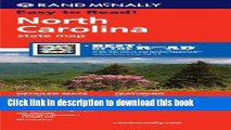 Download Rand McNally Folded Map: North Carolina (Rand McNally State Maps) Ebook PDF