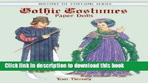 Read Gothic Costumes Paper Dolls (Dover Paper Dolls)  Ebook Free