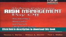 Read Making Enterprise Risk Management Pay Off: How Leading Companies Implement Risk Management