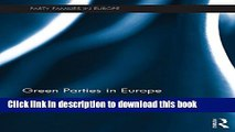 [PDF] Green Parties in Europe (Party Families in Europe) [Download] Online
