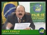 24/08/2009 - LEVY FIDELIX & Fernando Collor de Melo