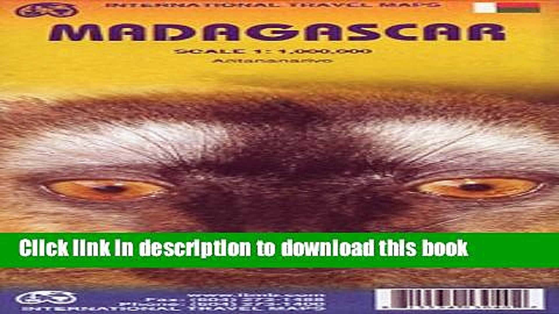 Download Madagascar 1:1 000 000 inclued Antananarivo inset (International Travel Maps) PDF Free