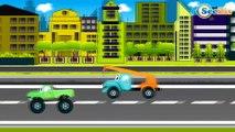 Emergency Vehicles Police Car & Tow Truck | Cars & Trucks Cartoons for children - Kids Cartoon