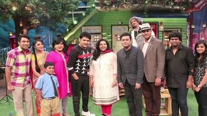 The Kapil Sharma Show ! A R Rahman Has A Fun Time On Kapil's Show ! News Adda