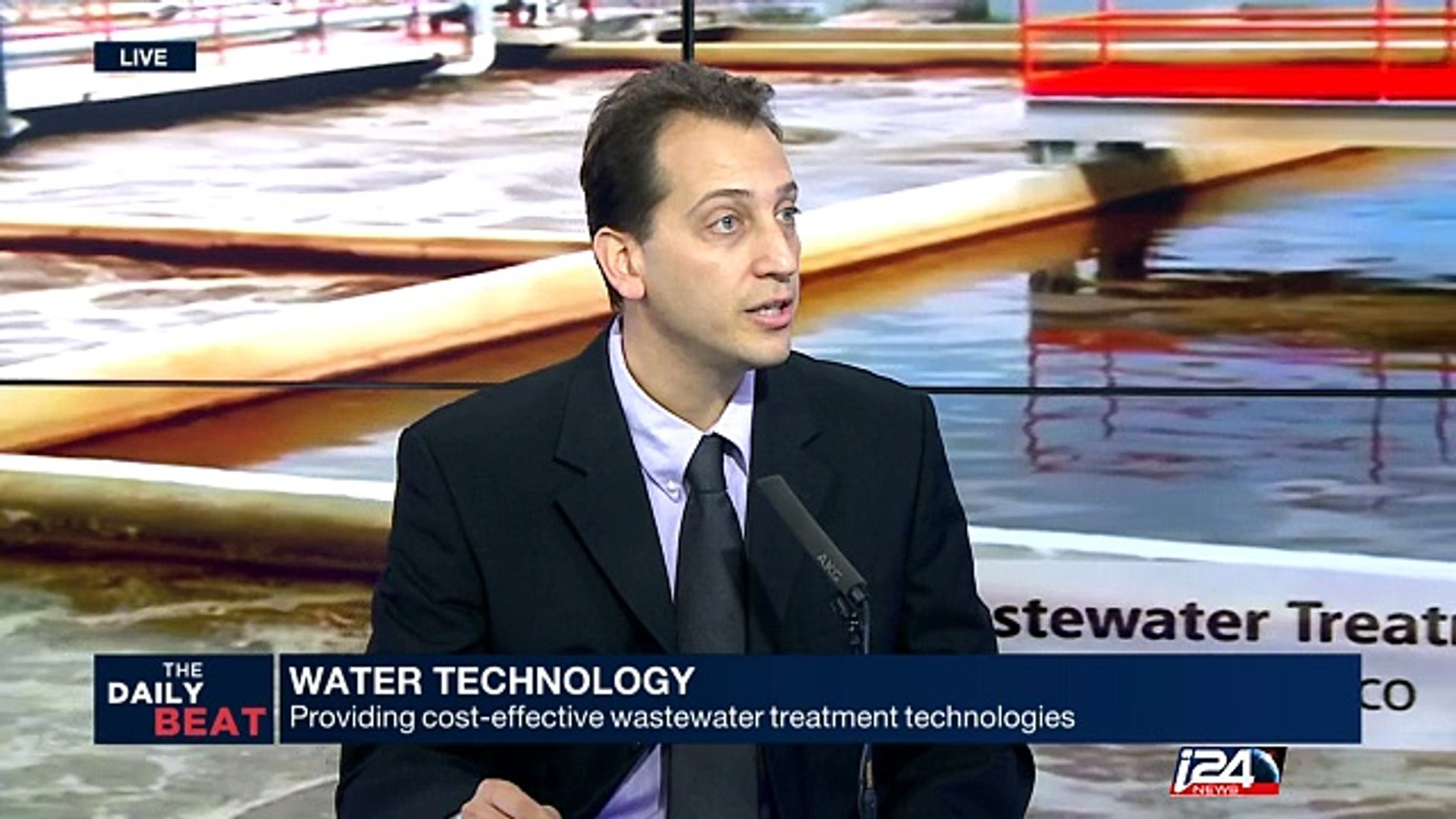 Water technology: providing cost-effective wastewater treatment technologies