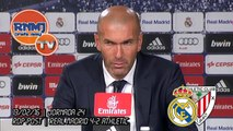 Rueda de prensa Zidane post Real Madrid 4-2 Athletic Bilbao | LIGA BBVA JORNADA 24