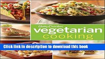 Read Betty Crocker Vegetarian Cooking (Betty Crocker Cooking)  Ebook Free