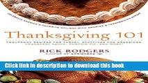 Read Thanksgiving 101: Celebrate America s Favorite Holiday with America s Thanksgiving Expert