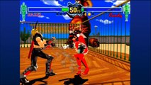 Fighting Vipers - Mr. Yagami VS JudoDarkFist (2/3 series)