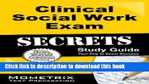 Read Clinical Social Work Exam Secrets Study Guide: ASWB Test Review for the Association of Social