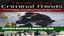 Read Book Analyzing Criminal Minds: Forensic Investigative Science for the 21st Century (Brain,