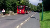 Brighton & Hove bendy bus route 25 at Sussex University