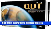 Read Quintessence of Dental Technology 2016 (QDT) (Qdt Quintessence of Dental Technology)  Ebook