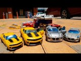 Transformers Human Alliance Jazz Bumblebee Autobot Transformation  Car Toys 트랜스포머 범블비 재즈  자동차 변신 동영상