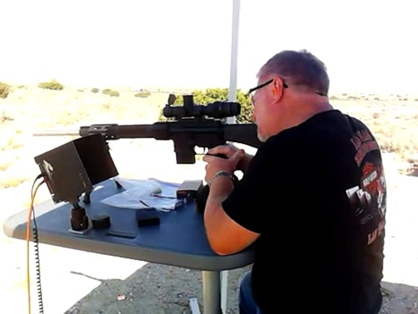 Shooting the 22-250 AR15 at 100 yards