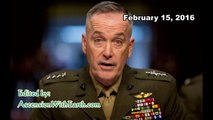 Assassination Attempt on General Dunford & GCR Update - February 15, 2016