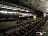 Pražské metro - přetah 10-vozové soupravy 81-71M
