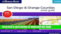 Read The Thomas Guide 2008 San Diego   Orange Counties Street Guide (San Diego and Orange Counties