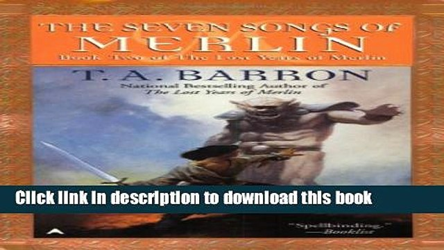 Read Books The Seven Songs of Merlin (Lost Years Of Merlin) E-Book Free