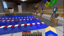 Minecraft School Scouts - SCOUT'S GET THERE SWIMMING BADGE!! w_ Little Kelly _ Little Carly!