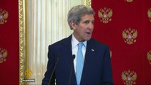 John Kerry in Moscow for Syria talks