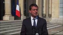 "NICE- Manuel Valls : ""La France va devoir vivre avec le terrorisme"""